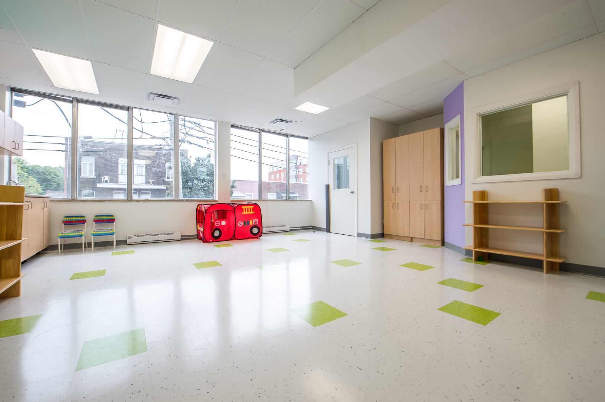 aménagement de garderie renovation montreal
