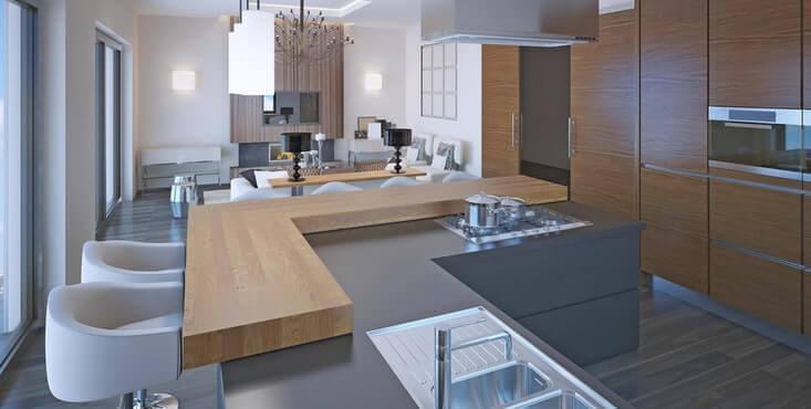 gallery of comptoir de bois with comptoir de boucher en bois. Black Bedroom Furniture Sets. Home Design Ideas