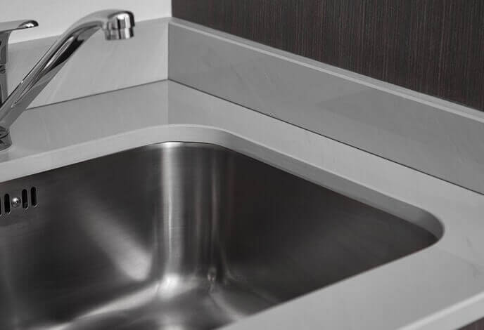 geoluxe kitchen countertop sink