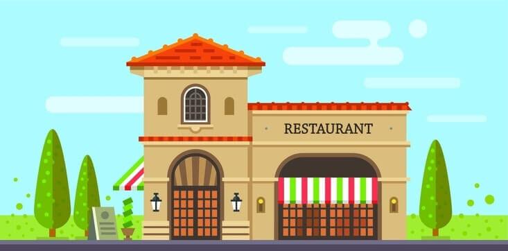 Devant de restaurant