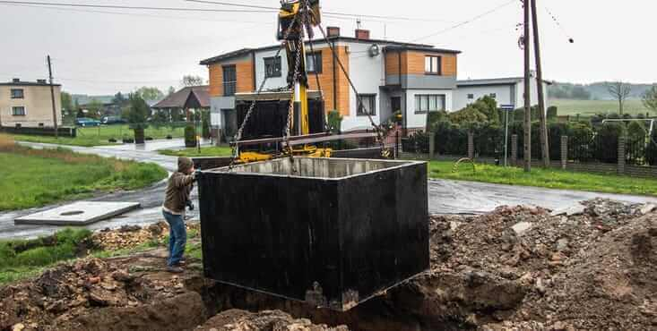 contractor septic tank