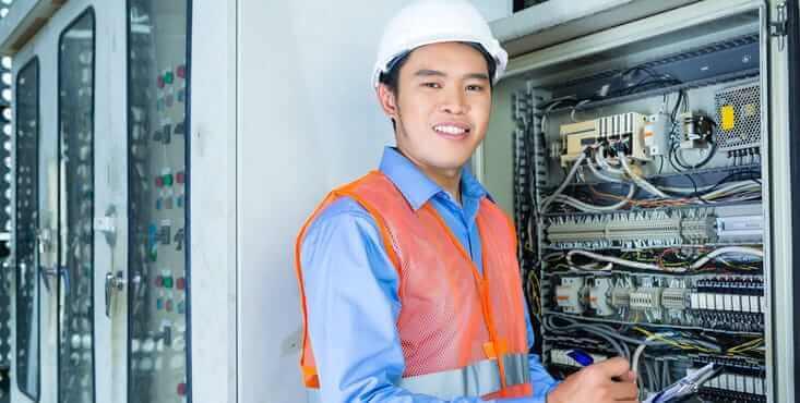 electricien industriel