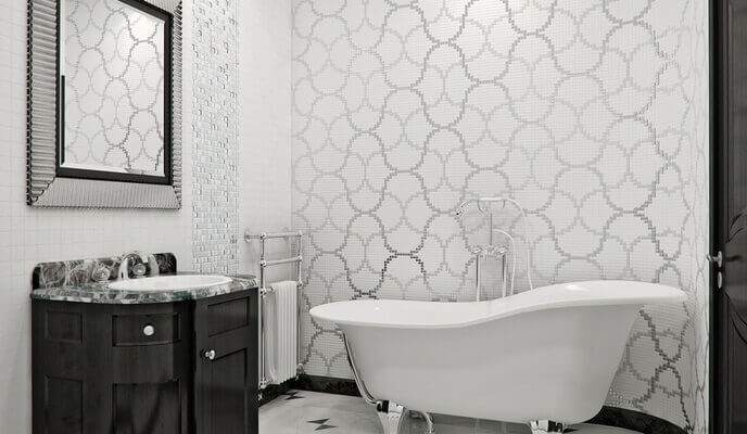 céramique faïence salle de bain