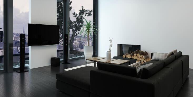 interieur condo luxueux