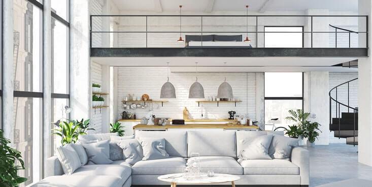 luxury loft interior
