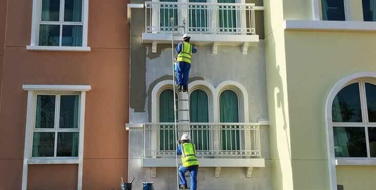 peintre immeuble