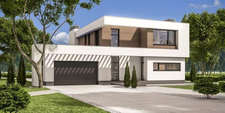 plan 3d maison neuve