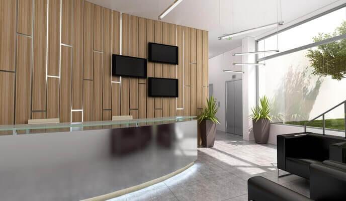 10 tendances d 39 am nagement de bureau pour 2018 r no assistance. Black Bedroom Furniture Sets. Home Design Ideas