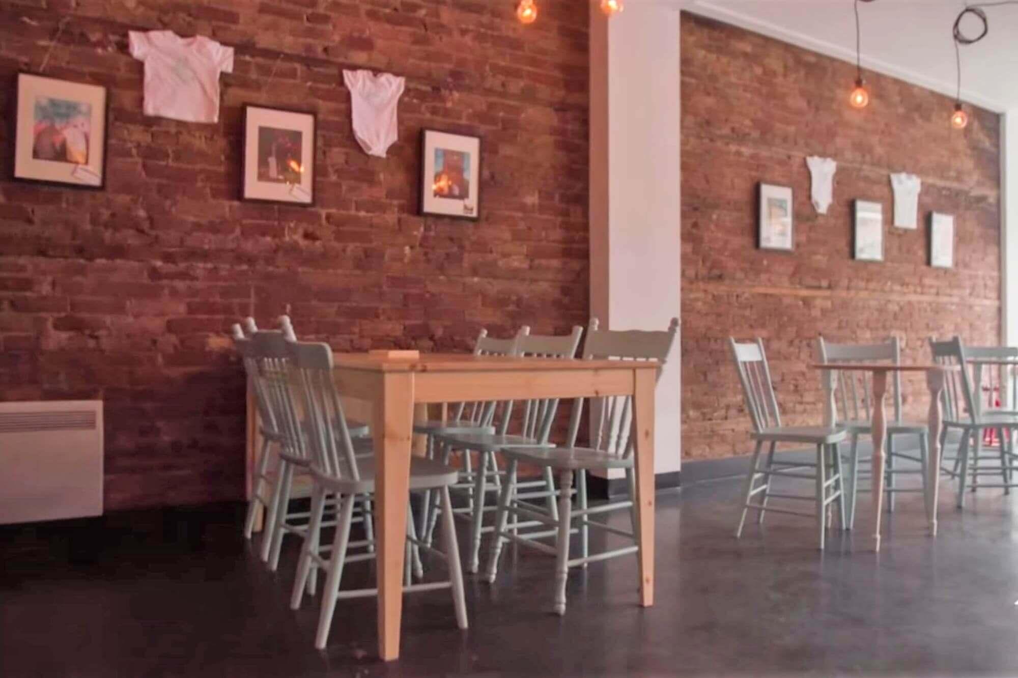 renovation commerciale espace a manger cafe