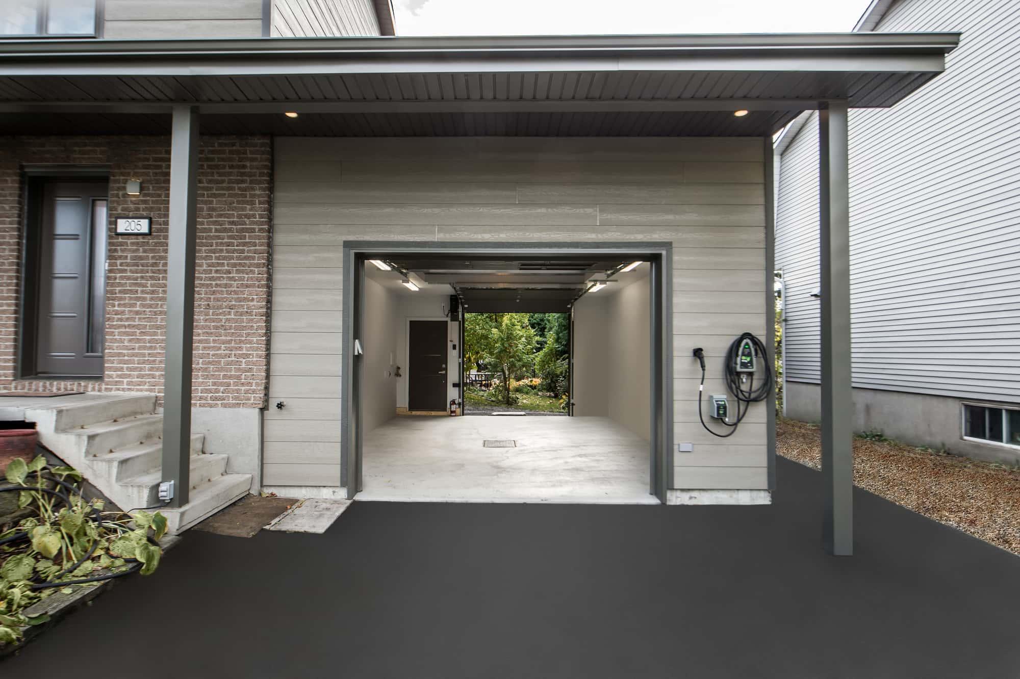 ajout de garage maison