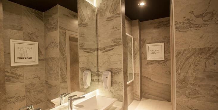 salle de bain restaurant