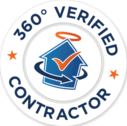 verified contractor logo