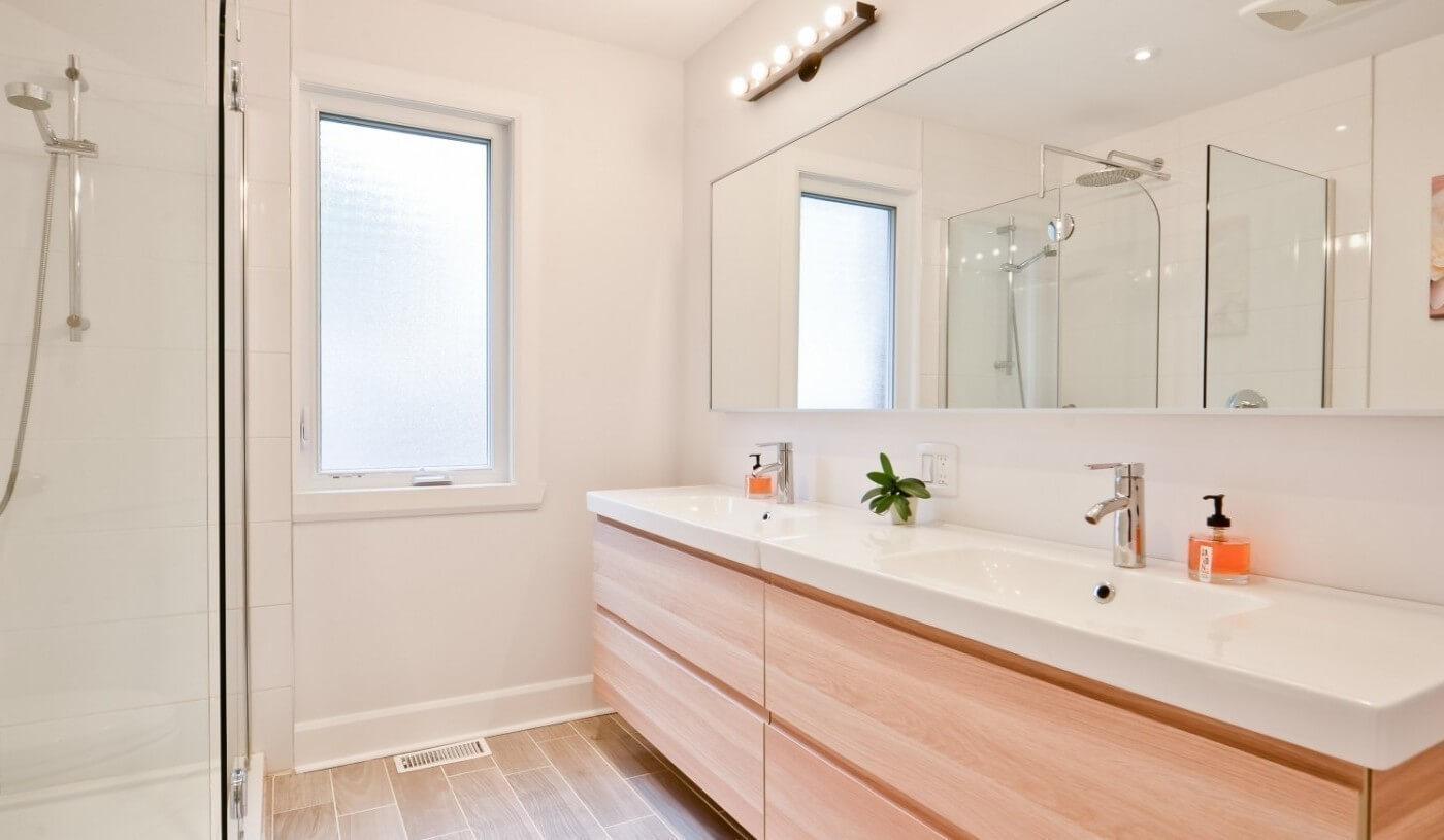 big white bathroom