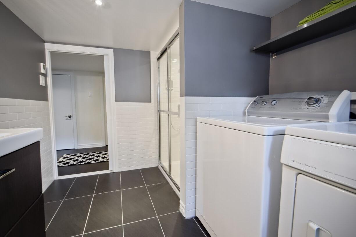 bathroom in a house
