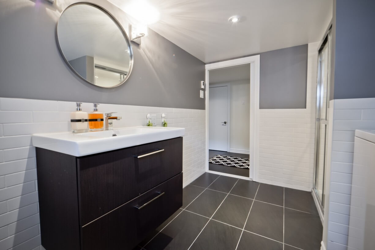 Bathroom in residential house