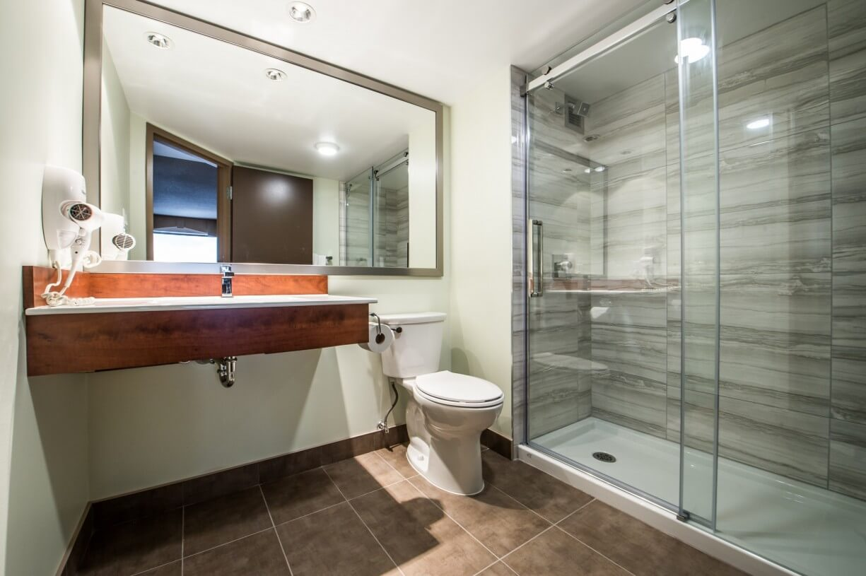 hotel bathroom renovation
