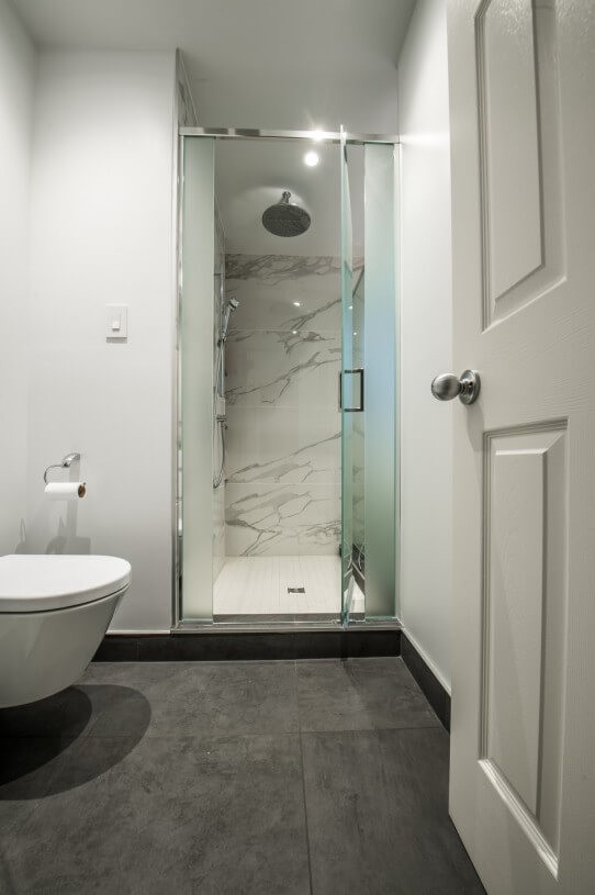 beautiful glass shower