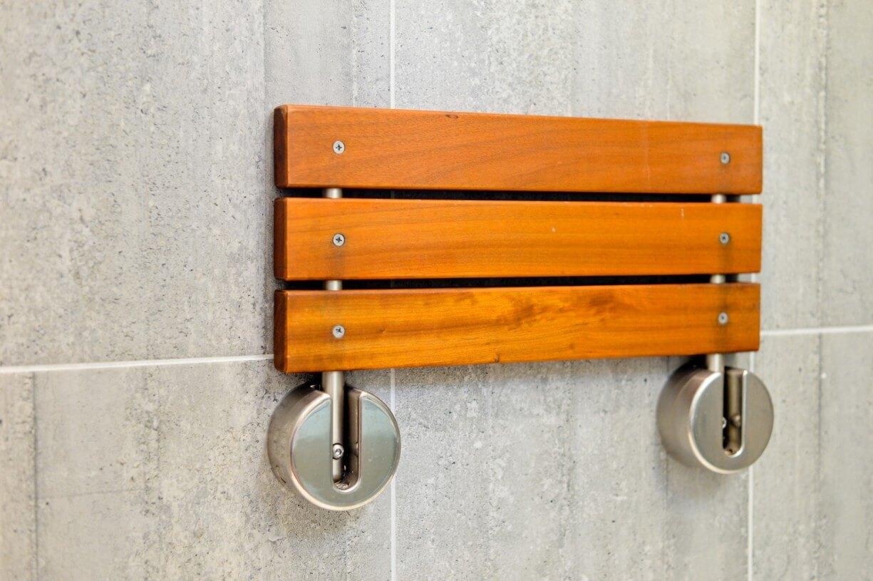 custom shower support