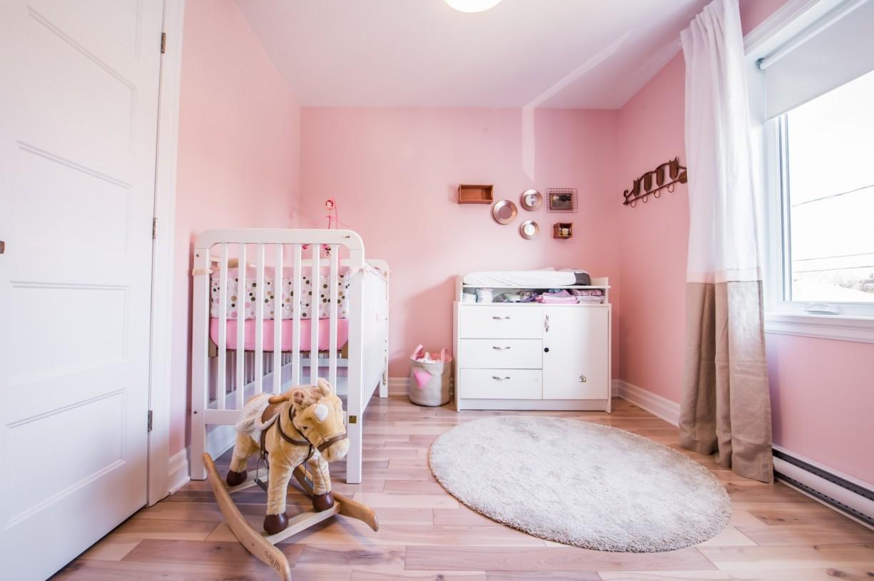 kid pink bedrooms