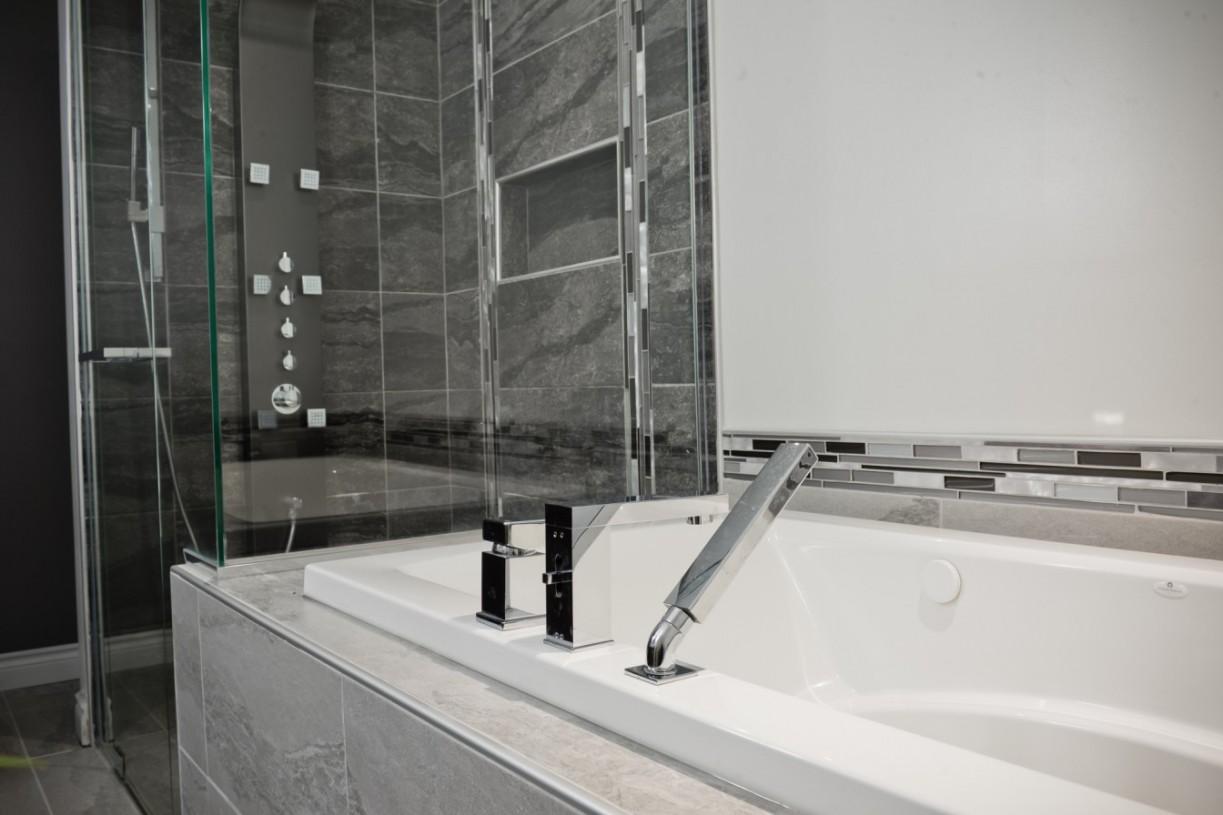 modern ceramic shower