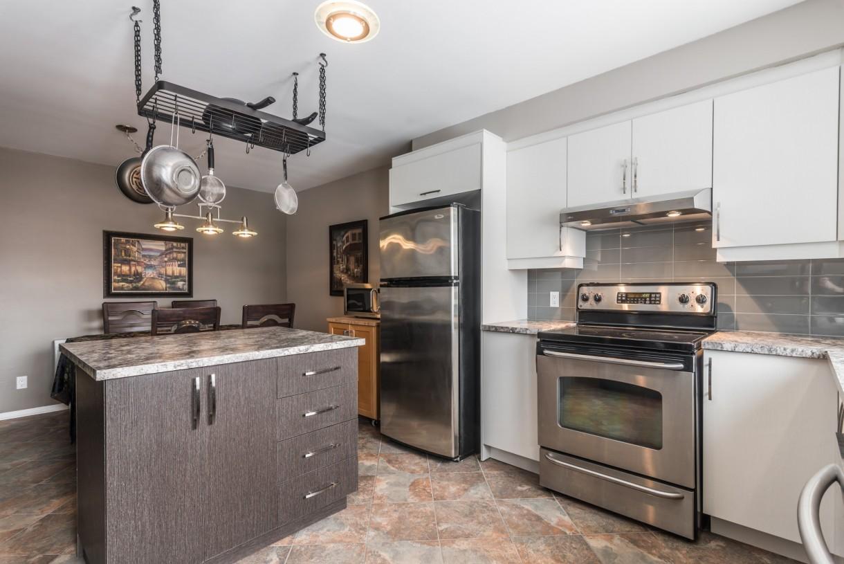 industrial style kitchen