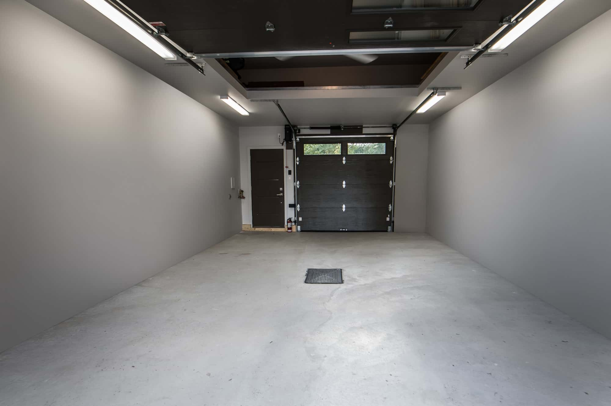 inside of a renovated garage