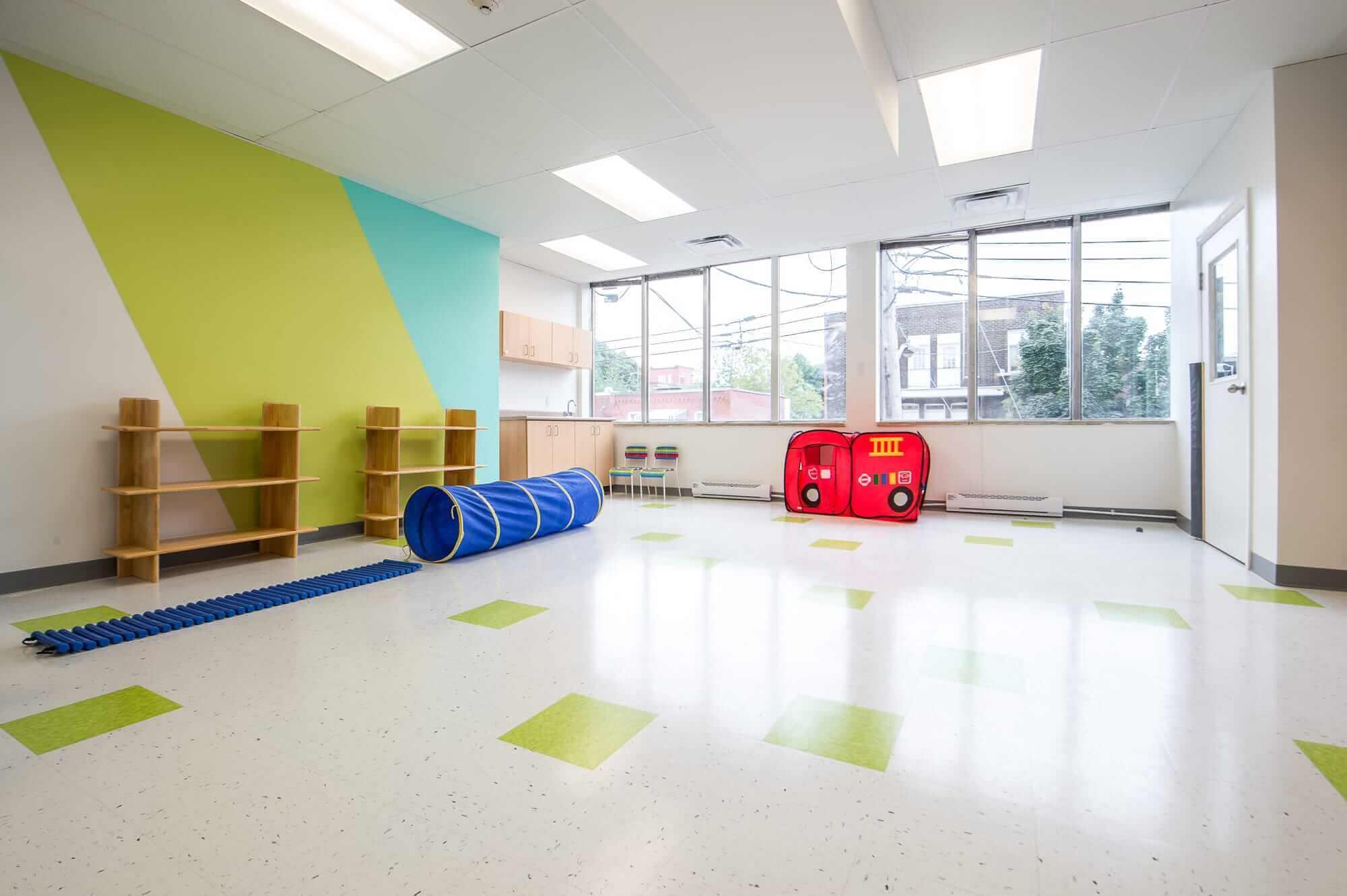 contractor nursery project