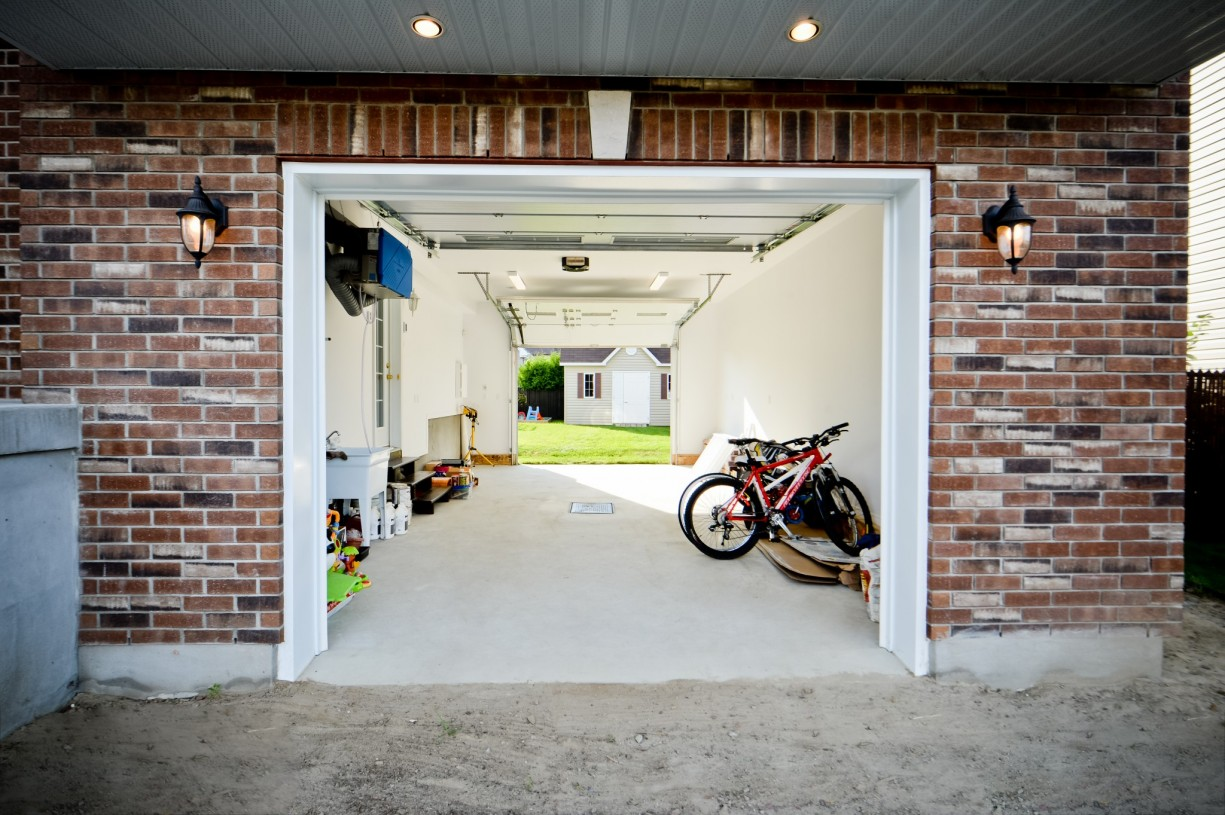 garage addition on house