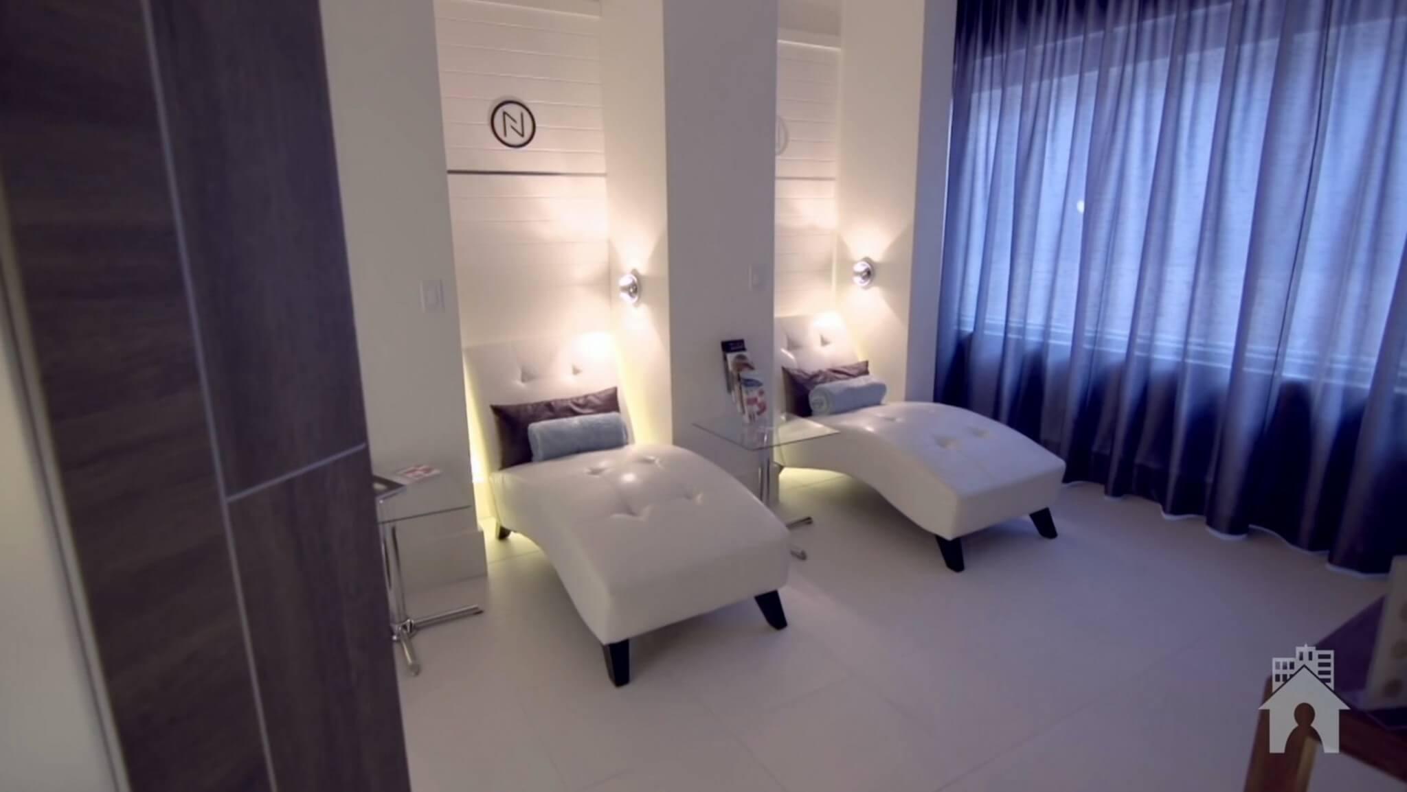 ideas for a spa center