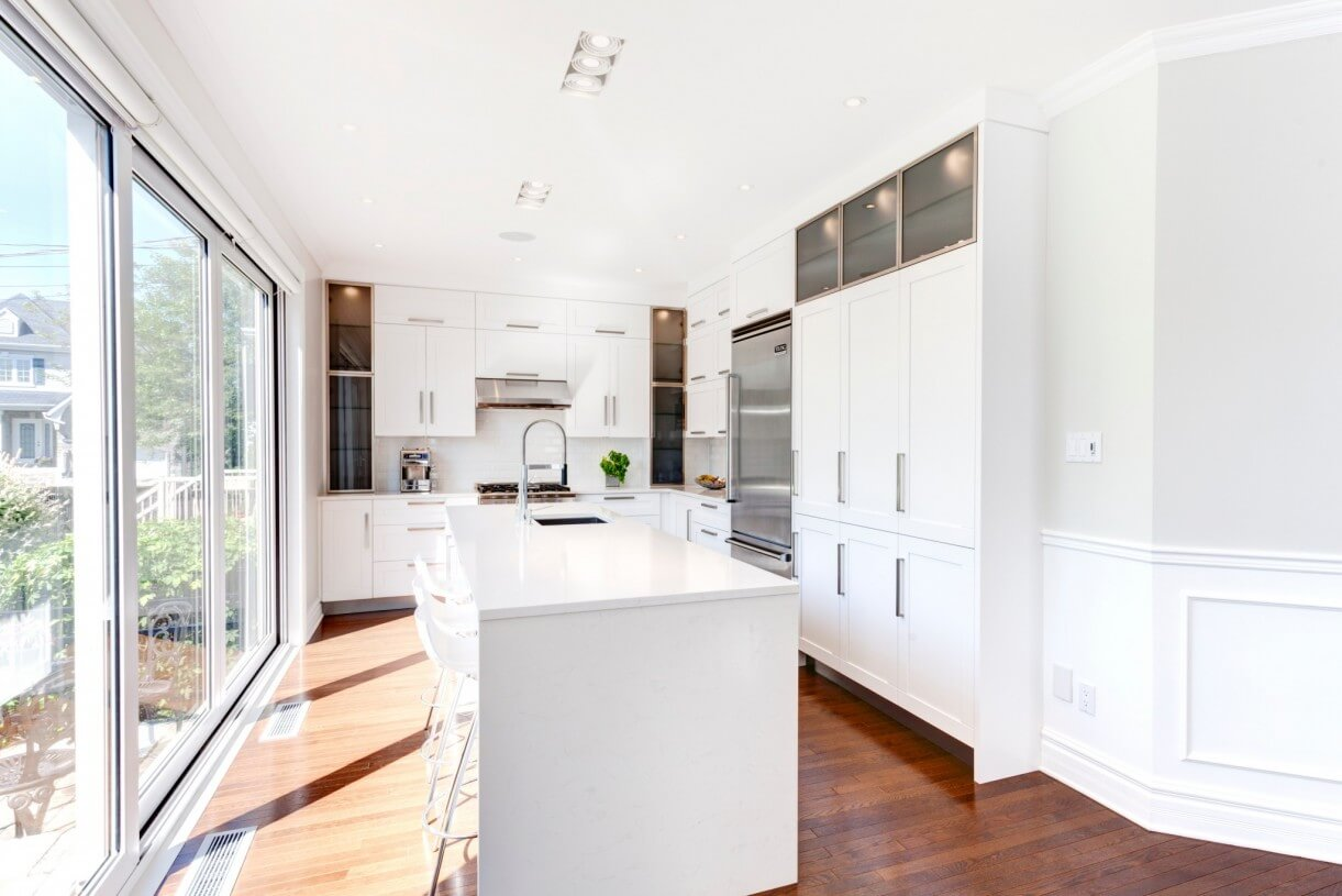 beautiful kitchens white