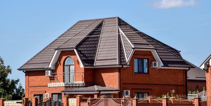 toitures de métal maison