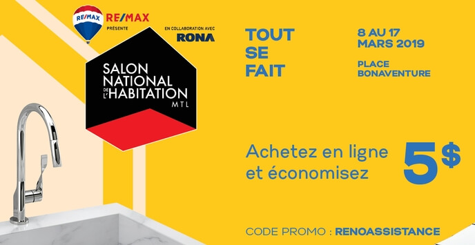 Code Promo 31 De Rabais Salon National De Lhabitation 2019