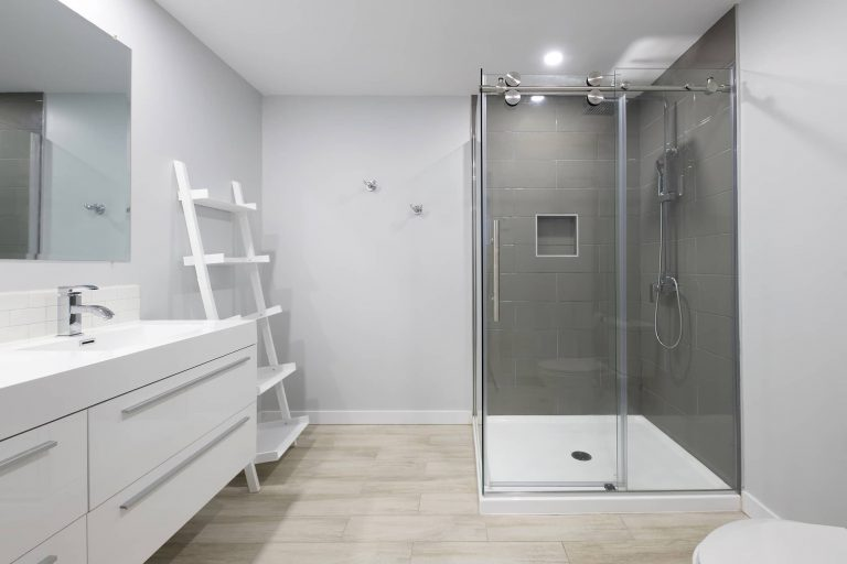 Leveille | Basement and Bathroom