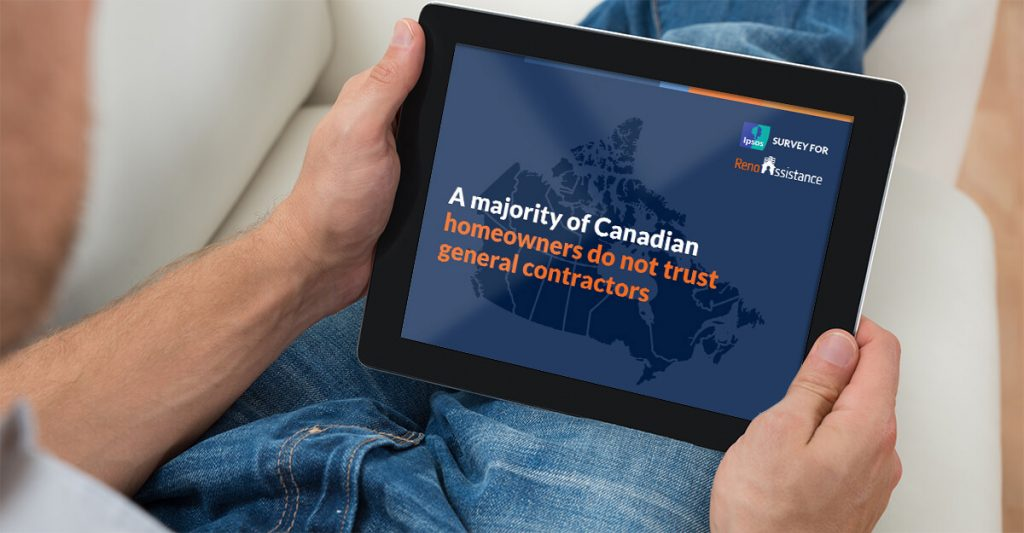 Renovation Infographic: Canadian IPSOS Survey Uncovers Toronto's Woes