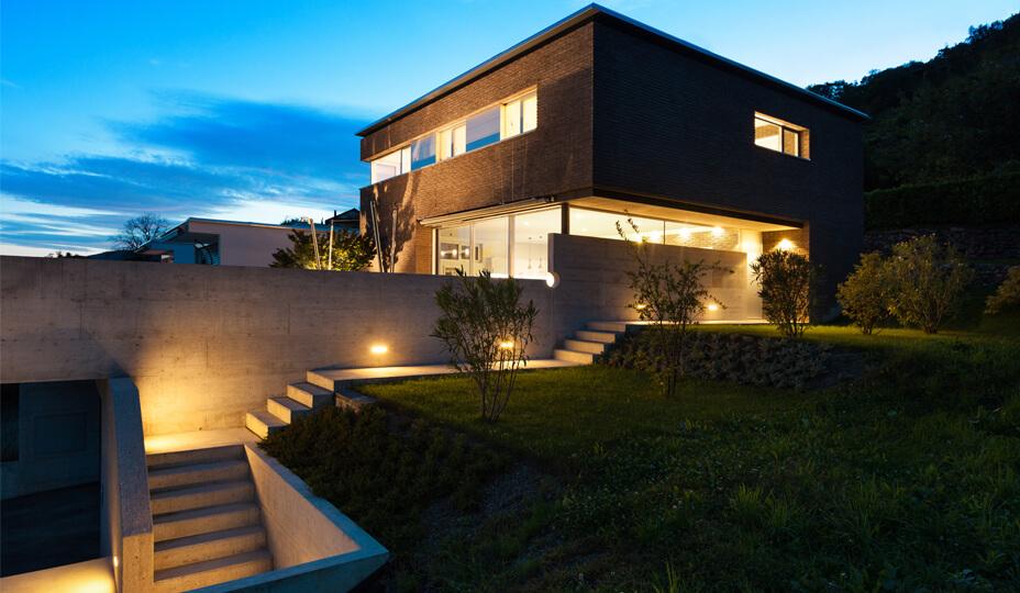 éclairage_architecturale_escalier_extérieur