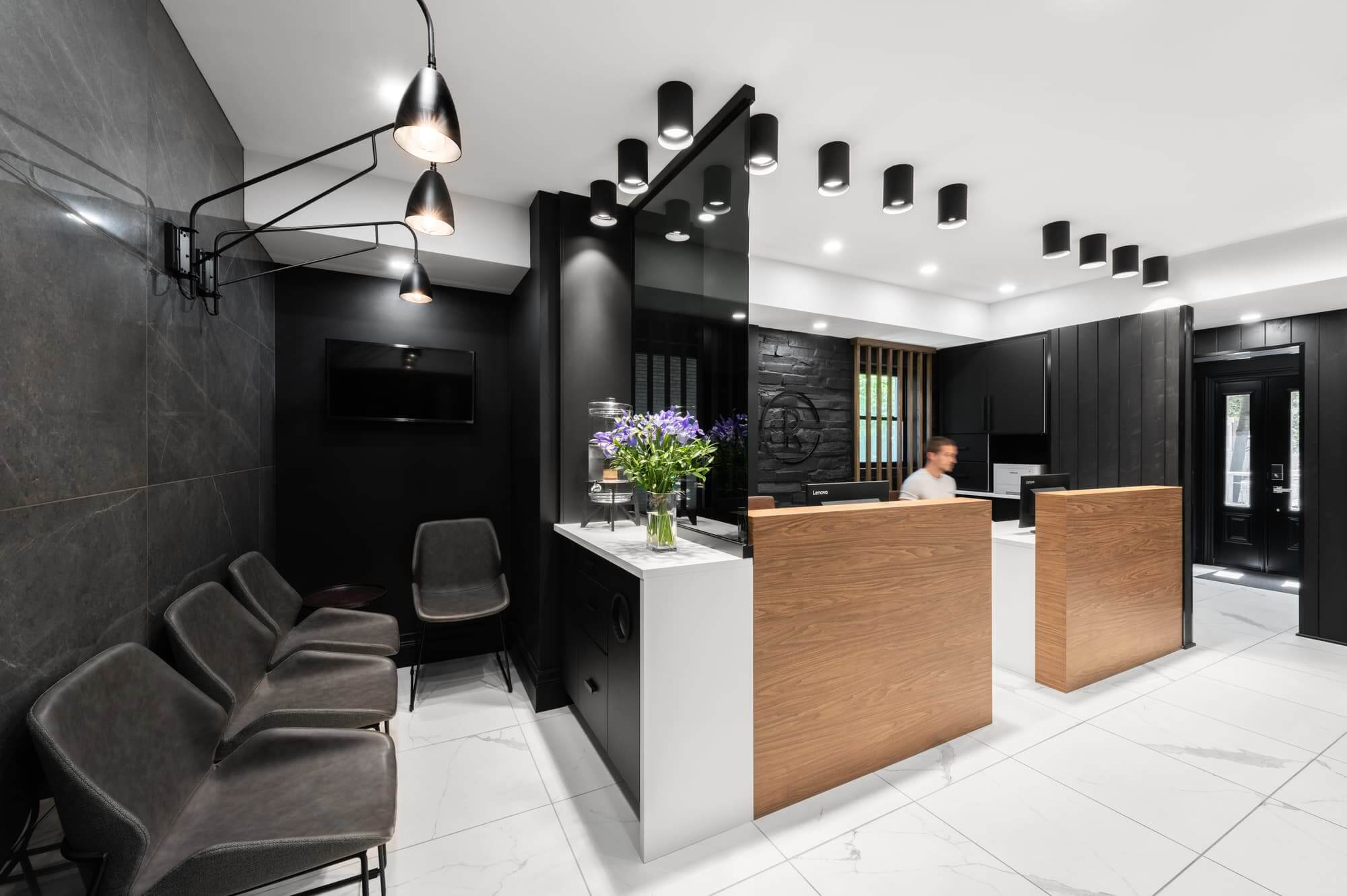 Remodel Of A Dental Clinic In Montreal Clinique Dentaire