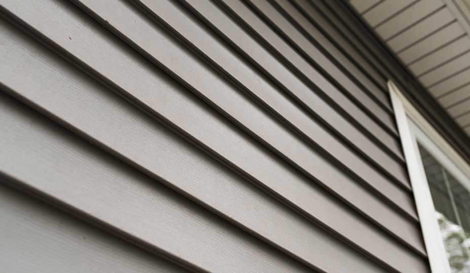 dark house siding