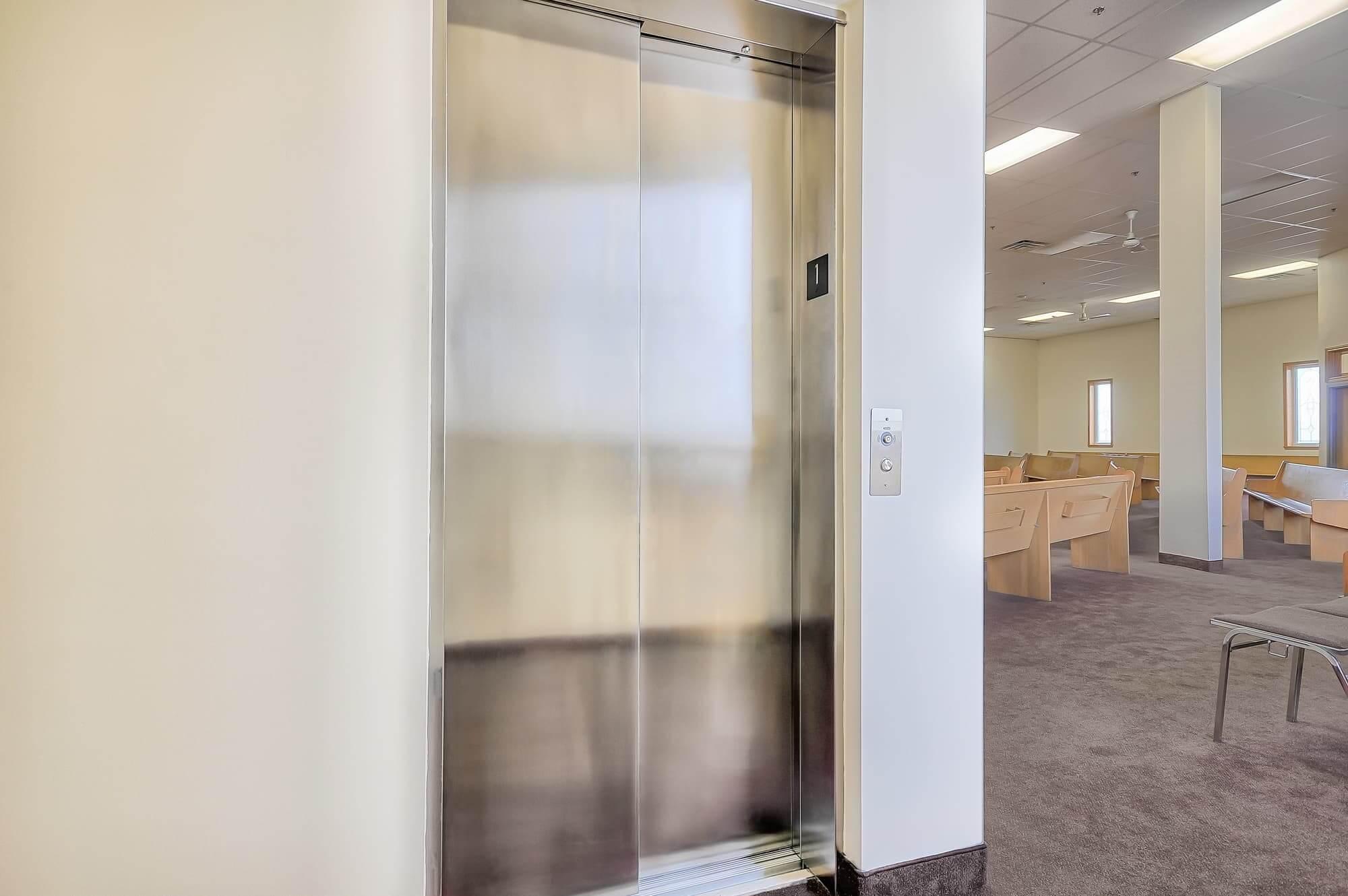 Mise aux normes édifice commercial - ajout d'un ascenseur