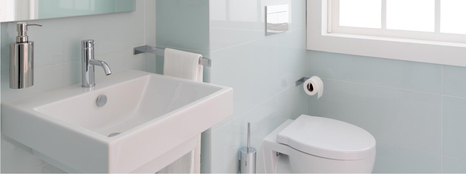 Salle De Bain Et Wc Dans Espace Reduit comment maximiser l'espace d'une petite salle de bain | 10
