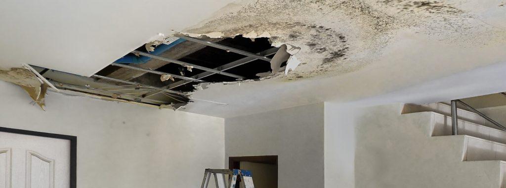 Infiltrations d'eau dans la maison: quoi faire pour prévenir les dommages