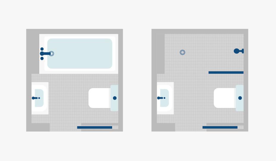 Comment maximiser l\'espace d\'une petite salle de bain | 10 ...