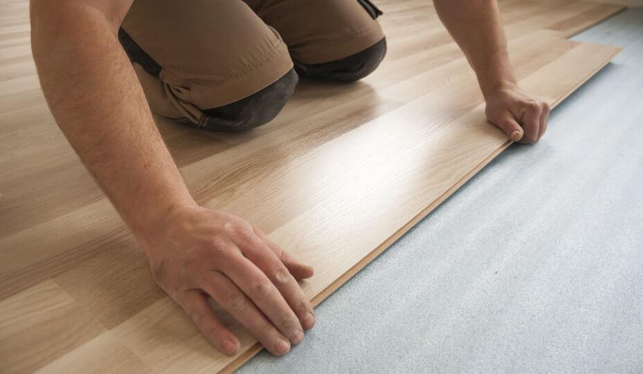 Installing new floor