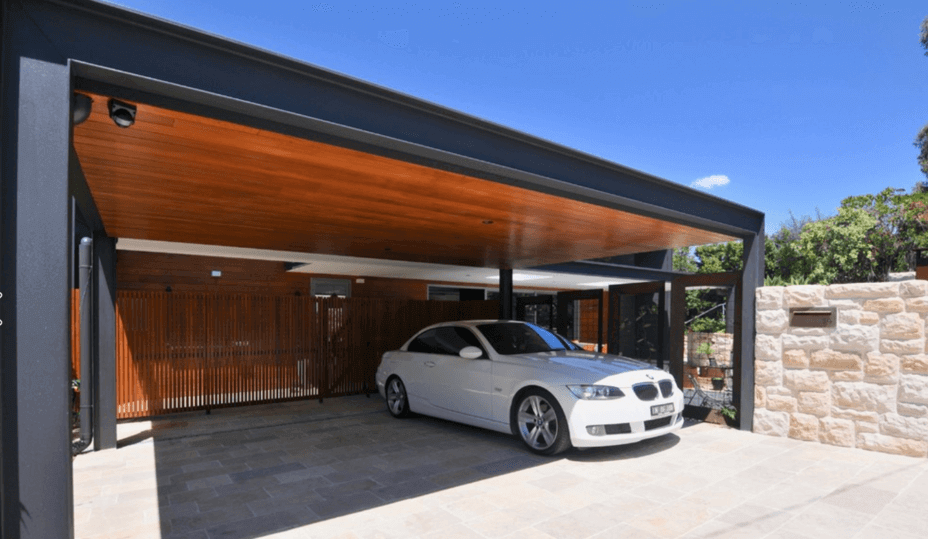 beautiful carport
