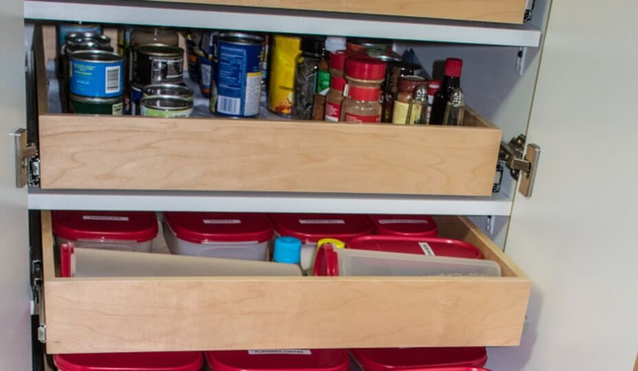in-cabinet drawers