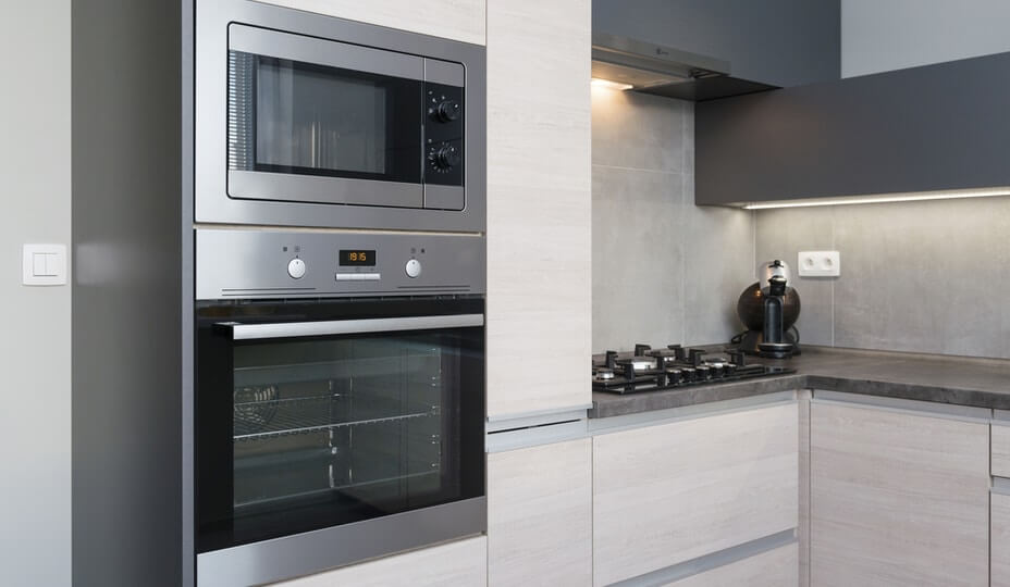 integrated appliances kitchen