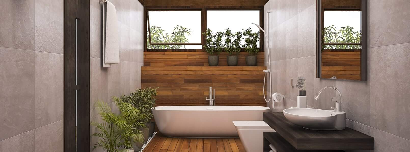 9 of the Most Common Bathroom Materials