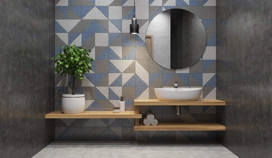 earthenware bathroom