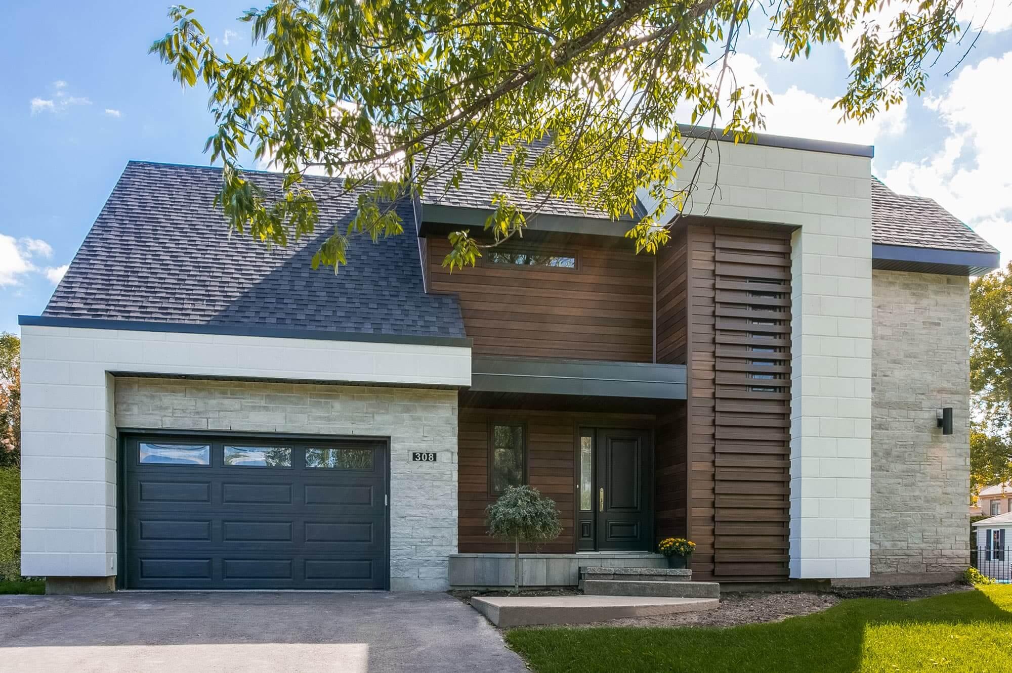 Relooking Maison Avant Apres changement majeur des façades d'une maison avant/après