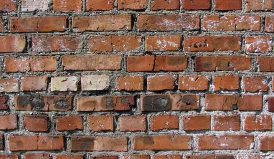 bulging brick
