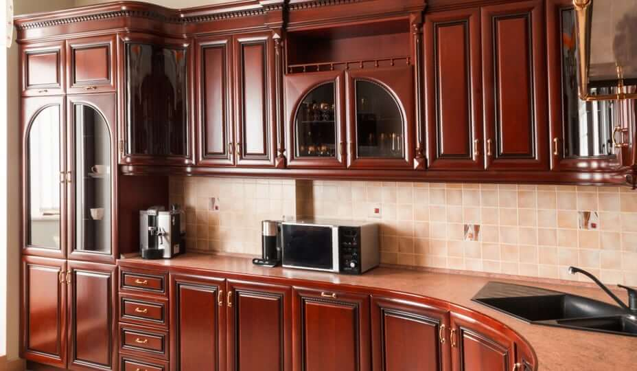 kitchen cabinets refaced